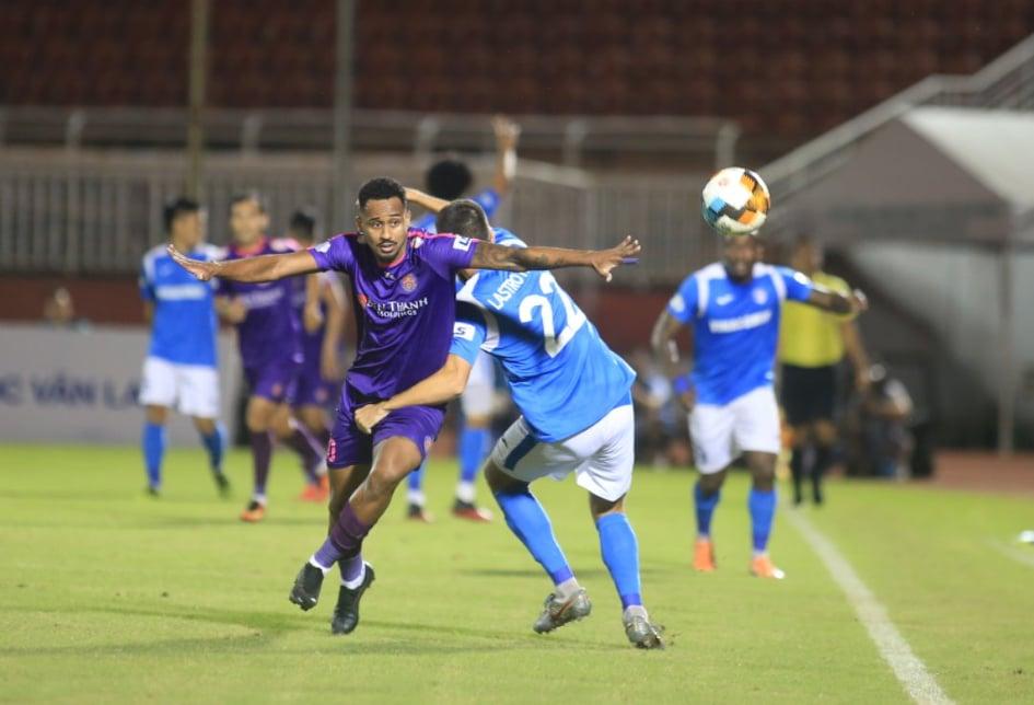 Pedro ghi bàn mở tỷ số cho Sài Gòn FC - Ảnh: Phạm Đình