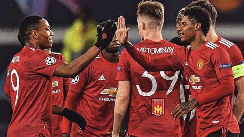 Rashford và Solskjaer 'lên mây' sau trận đại thắng 5-0 trước RB Leipzig