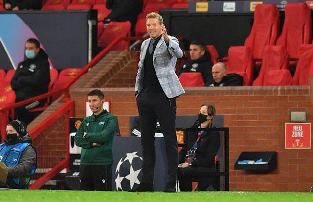 Nagelsmann và RB Leipzig thất bại ở Old Trafford