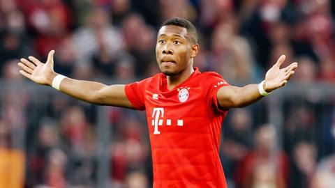Alaba đàm phán thất bại với Bayern
