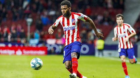 Atletico hồi phục nhờ sự thức tỉnh của Lemar