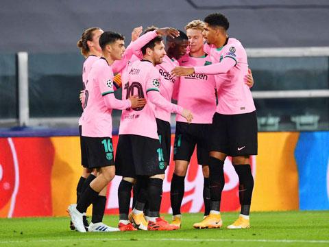 Messi và đồng đội vừa có trận thắng đúng thời điểm để lấy lại tinh thần