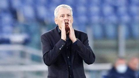 Chiến thắng trước Zenit chưa giúp HLV Favre quên đi nỗi lo bị mất việc tại Dortmund