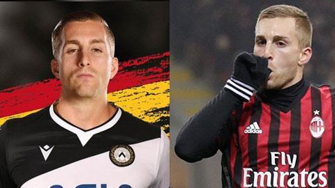 Trong màu áo Udinese, Deulofeu sẽ chống lại đội bóng cũ Milan