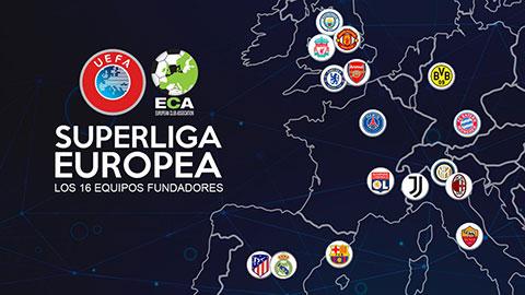 'European Super League sinh ra để hủy diệt Premier League'