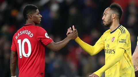 Đội hình dự kiến M.U vs Arsenal: Rashford và Aubameyang trở lại?