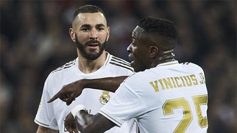 Benzema và Vinicius đá thế nào sau scandal nói xấu đồng đội?