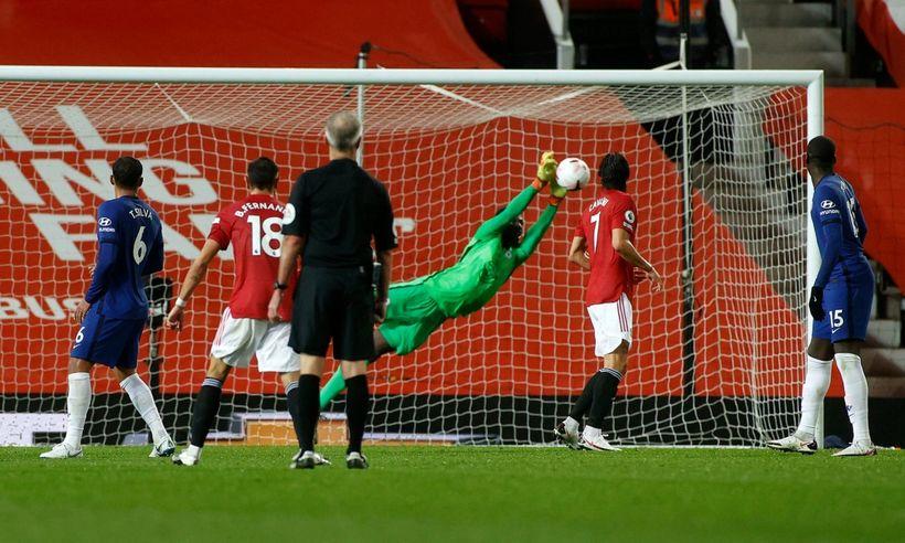 Cuối tuần trước, anh đã mua mọi cú sút của Man United