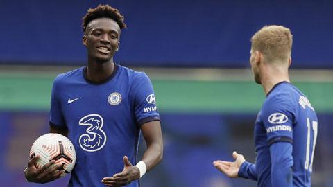Trực tiếp Burnley vs Chelsea: Abraham đá chính thay Werner