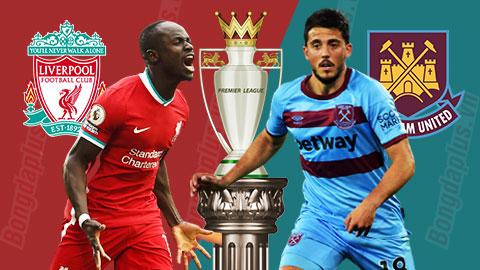 0h30 Trực tiếp Liverpool vs West Ham: Phillips đá cặp với Gomez ở hàng thủ đội ĐKVĐ