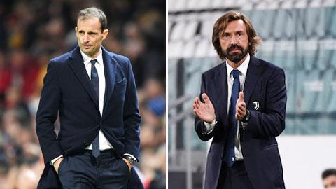 Juventus nhắm Allegri thay thế Pirlo