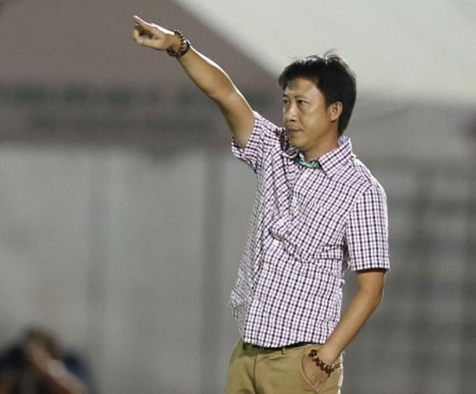 HLV Nguyễn Thành Công đang là người đạt tỷ lệ thắng cao nhất V.League