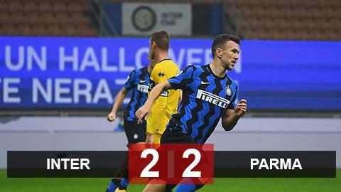 Kết quả Inter 2-2 Parma: Đuổi bắt nghẹt thở ở Milano