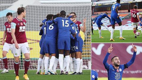 Thấy gì từ trận đại thắng 3-0 của Chelsea trước Burnley?