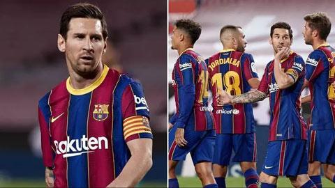 Hé lộ mức lương khổng lồ của dàn sao có thể khiến Barca đối diện cảnh phá sản