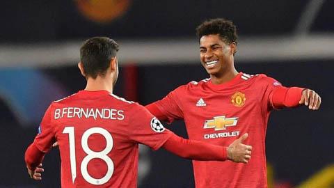 Rashford 'đánh bại' Fred và Fernandes ở cuộc đua cầu thủ M.U hay nhất tháng 10