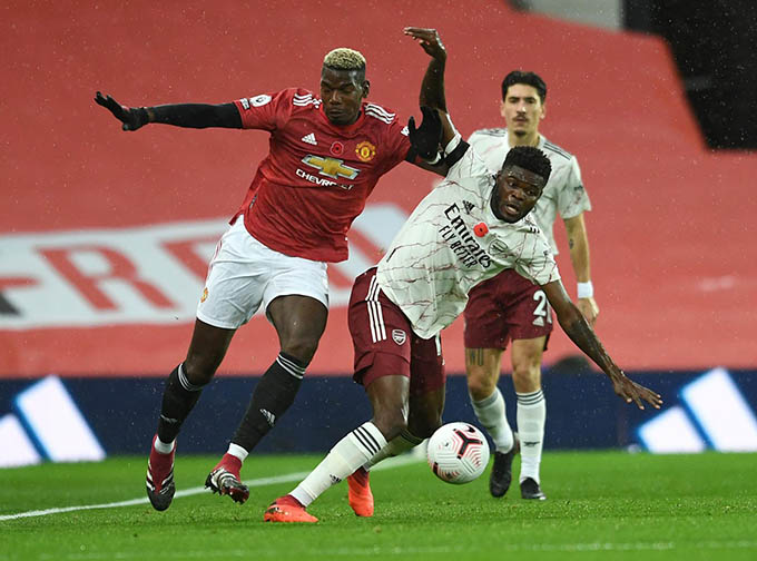 Nhiều cầu thủ Man United chơi không đúng phong độ ở trận gặp Arsenal