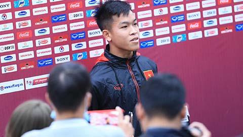 Tuyển thủ Hữu Thắng: Sau hạng Nhất là U22 Việt Nam