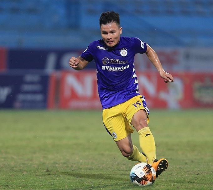 Hà Nội FC cần Quang Hải tòa sáng trong trận sinh tử với Sài Gòn FC - Ảnh: Phan Tùng