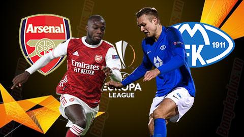 Nhận định bóng đá Arsenal vs Molde, 03h00 ngày 6/11
