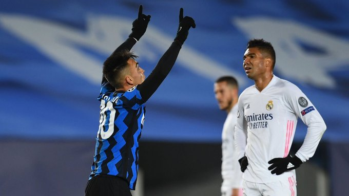 Martinez gỡ lại 1 bàn cho Inter ở phút 35