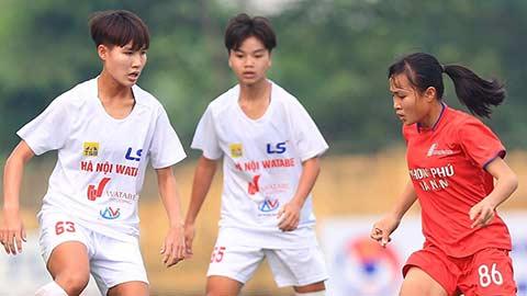 Hòa PP Hà Nam 2-2, Hà Nội Watabe giành giải Ba U16 nữ Quốc gia 2020