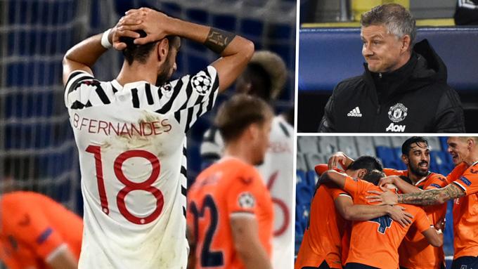 M.U gây thất vọng lớn khi để thua Istanbul Basaksehir