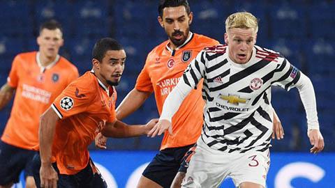 Van de Beek lý giải nguyên nhân khiến Man United thua Istanbul Basaksehir