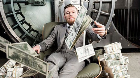 Kiếm tiền giỏi như Conor McGregor