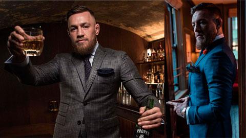 Khối tài sản 80 triệu bảng của Conor McGregor phần lớn đến từ kinh doanh thời trang và … rượu