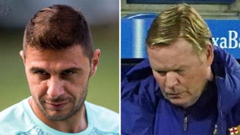Joaquin (trái) có nhiều kỷ niệm không vui với HLV Koemen khi cả hai còn ở Valencia