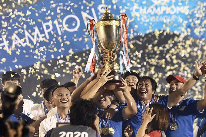 Viettel lần đầu tiên vô địch V.League