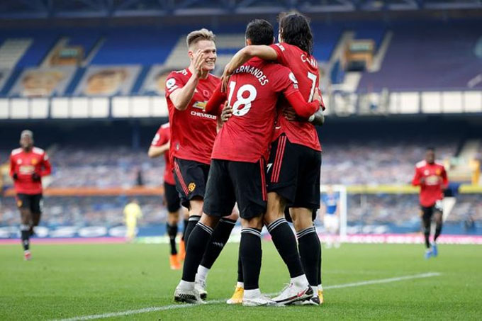 Man United đã chơi một trận xuất sắc trước Everton