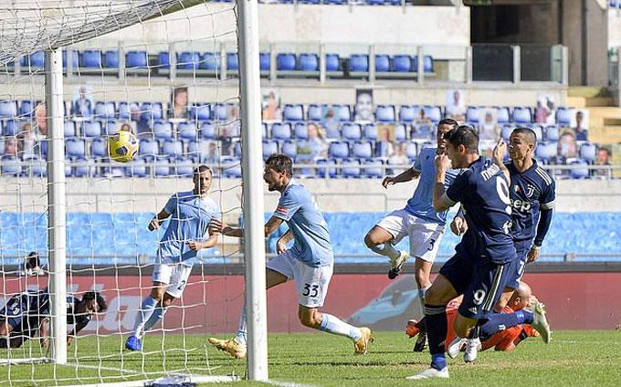 Ronaldo ghi bàn duy nhất cho Juve trước Lazio