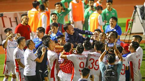 Vô địch V.League 2020, Viettel san bằng kỷ lục sạch lưới của Bình Định