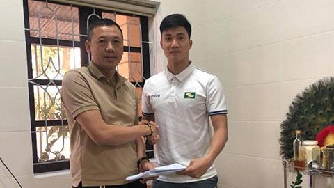 SLNA giữ chân thành công cựu thủ môn U23 Việt Nam