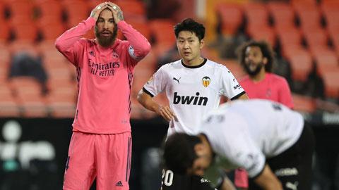 Real Madrid thảm bại bởi VAR-lencia