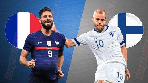 Nhận định bóng đá Pháp vs Phần Lan, 03h10 ngày 12/11: Nối dài mạch bất bại