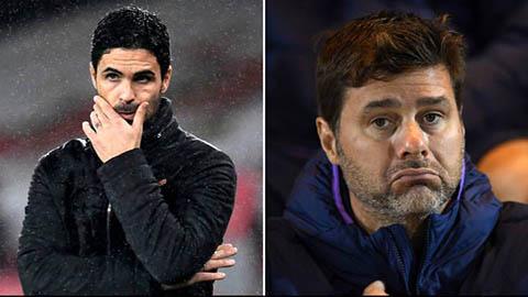 CĐV Arsenal muốn thay Arteta bằng Pochettino hoặc Allegri