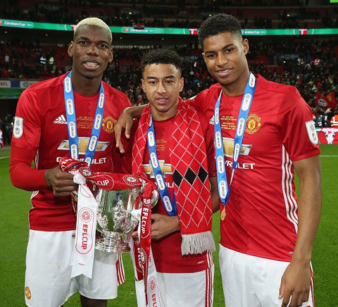 Lò đào tạo trẻ Man United đang có nhiều cầu thủ thành danh trên khắp châu Âu