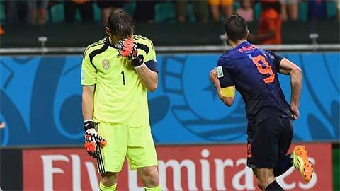 """Trận cầu kinh điển Hà Lan 5-1 Tây Ban Nha: Đỉnh cao """"đòi nợ"""""""