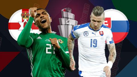 Nhận định bóng đá Bắc Ireland vs Slovakia, 2h45 ngày 13/11: Slovakia giành vé