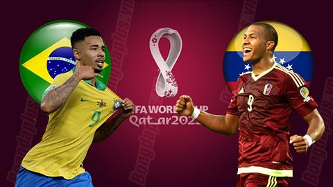 """Nhận định bóng đá Brazil vs Venezuela, 07h30 ngày 14/11: Chờ Tite """"phù phép"""""""