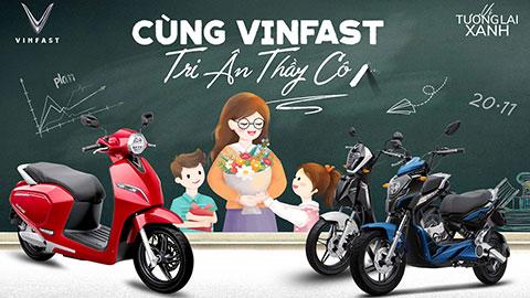 VinFast tặng quà tri ân thầy cô đón mừng ngày Nhà Giáo
