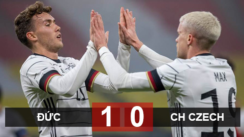 Kết quả Đức 1-0 CH Czech: Tiền đạo Benfica ghi bàn duy nhất, Đức nhọc nhằn hạ CH Czech