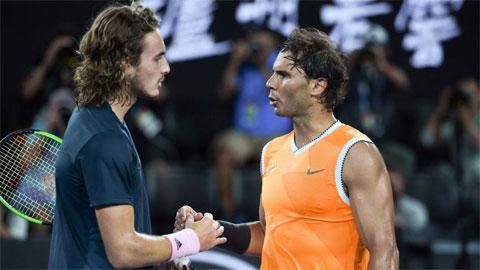 Nadal chung bảng với ĐKVĐ Tsitsipas ở ATP Finals 2020