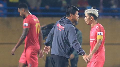 Sài Gòn FC đã chia tay 16 cầu thủ ngay sau khi giành HCĐ V.League 2020 Ảnh: ĐỨC CƯỜNG