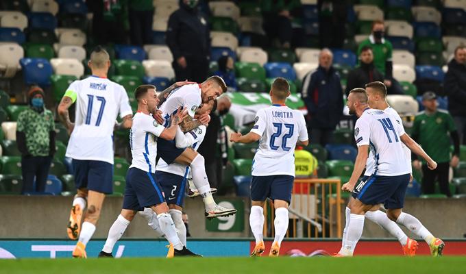 Slovakia giành chiến thắng kịch tính trong hiệp phụ