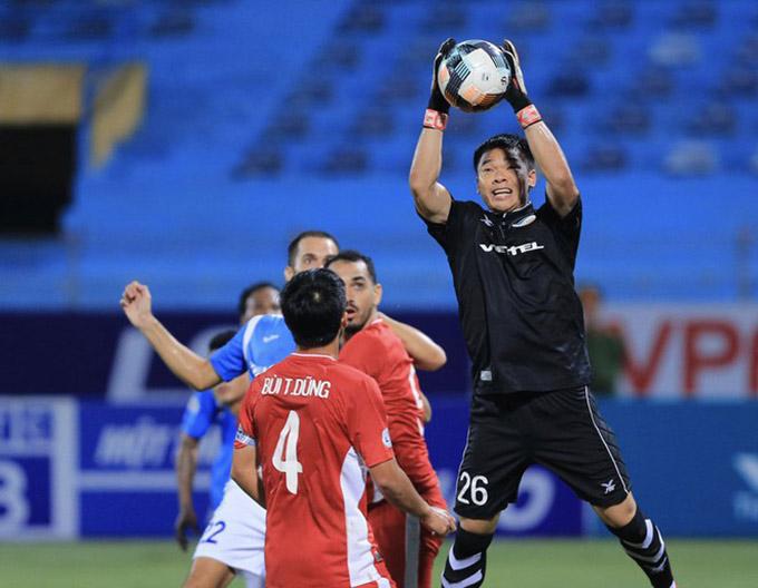 Nguyên Mạnh chơi ổn định trong giai đoạn nút thắt giúp Viettel vô địch