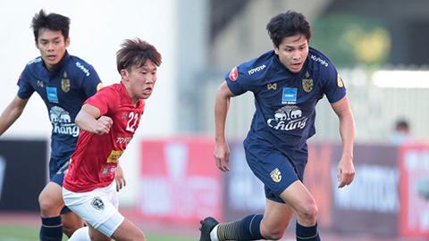 HLV Nishino bực bội khi ĐT Thái Lan hoà dàn sao Thai League